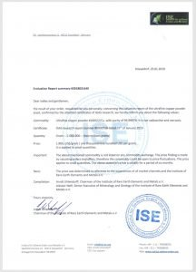 IGAS Certification